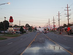 Page Avenue, Maryland Heights, August 2013