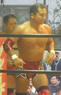 Masato Tanaka Japanese professional wrestler