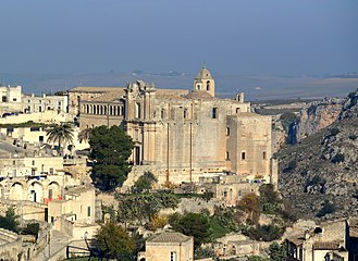 History of Italy - Matera, which dates from Palaeolithic 10th millennium BCE, (region of Basilicata).