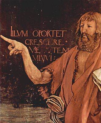 John the Baptist - Matthias Grünewald, detail of the Isenheim Altarpiece