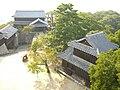 Matsuyama castle(Iyo) Nohara-Yagura & Inui-Yagura.JPG