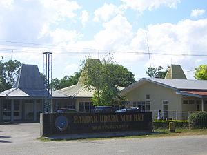 Umbu Mehang Kunda Airport - Image: Mau Hau Airport Sumba