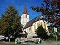 Mauritius-Kirche in Holzgerlingen, Mittelalterliche Dorfkirche mit spätgotischem Chor und romanischem Turm. Erste urkundliche Erwähnung 1274 - panoramio.jpg
