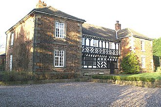Listed buildings in Mawdesley - Image: Mawdesley Hall, Lancashire