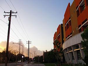 Maywood Academy High School - Maywood Academy High School along Randolph St