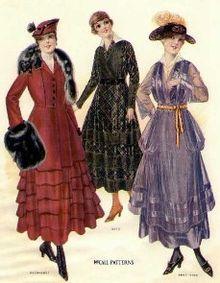 La moda 1916 su McCall's