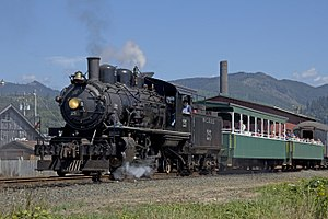 Oregon Coast Scenic Railroad - 100 px