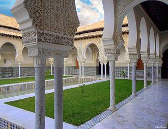 Mechouar - Zianid's palace in the mechouar of Tlemcen, Algeria