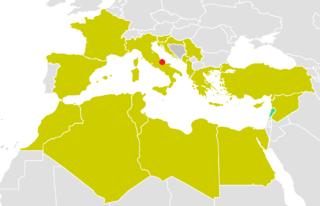 2009 Mediterranean Games medal table
