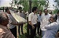 Meeting Between CMC And NCSM Officers - Science City Site - Dhapa - Calcutta 1993-04-22 0554.JPG