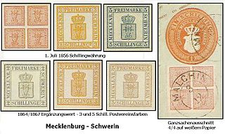 Postage stamps and postal history of Mecklenburg