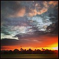 Melbourne sunset from Templestowe - panoramio.jpg