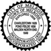Official seal of Melrose, Massachusetts
