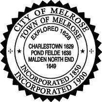 Official seal of Melrose, Massachusetts