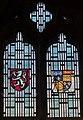 Melton Mowbray, St Mary's church porch Window (44872625384).jpg