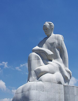 Estatue of Jose Marti in Havana, Cuba.