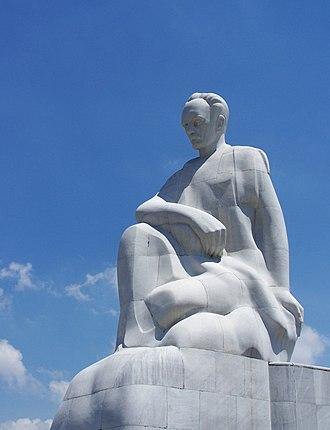 José Martí - Statue of José Martí in Havana, Cuba