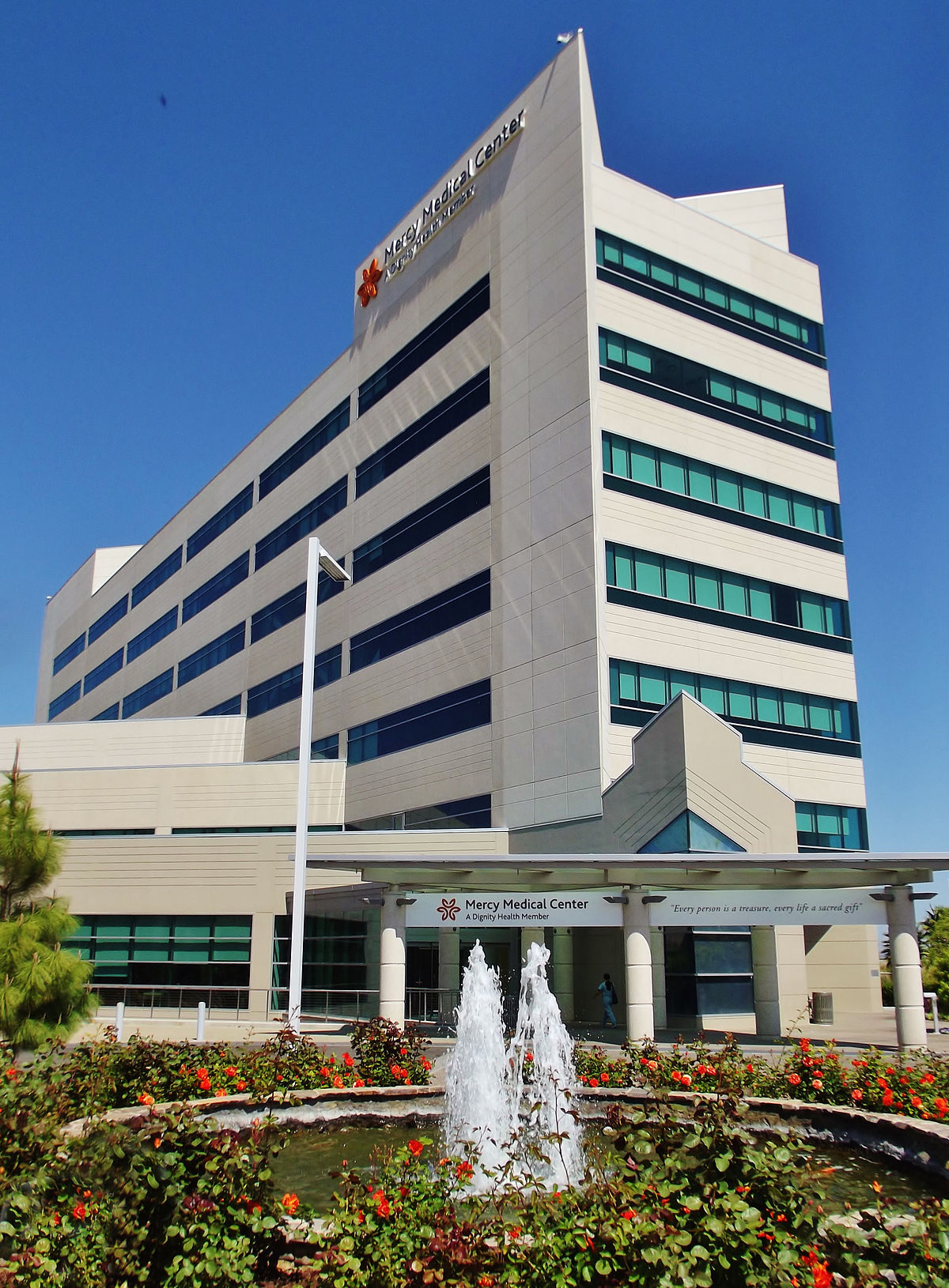 Mercy Medical Center Merced - Wikipedia