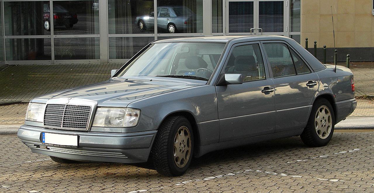 Mercedes e 300 turbo d 4matic w124 for Mercedes benz e300 4matic