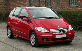 Mercedes Benz A 180 CDI Elegance (W 169) U2013 Frontansicht (1)