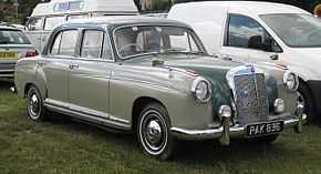 Mercedes Benz 220S June 1958 2195cc.JPG