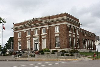 Merrill, Wisconsin - Image: Merrill Wisconsin Post Office