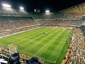 Football at the 1992 Summer Olympics - Image: Mestalla trofeu taronja 120811
