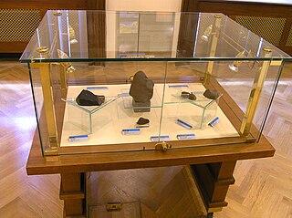 Příbram meteorite meteorite