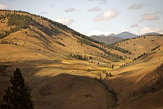 Okanogan County, Washington - Landscape near Winthrop, Washington