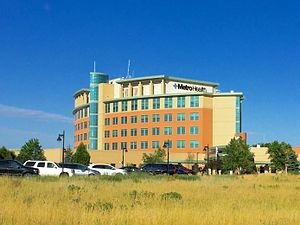 Wyoming, Michigan - Metro Health Hospital, the largest employer in Wyoming.
