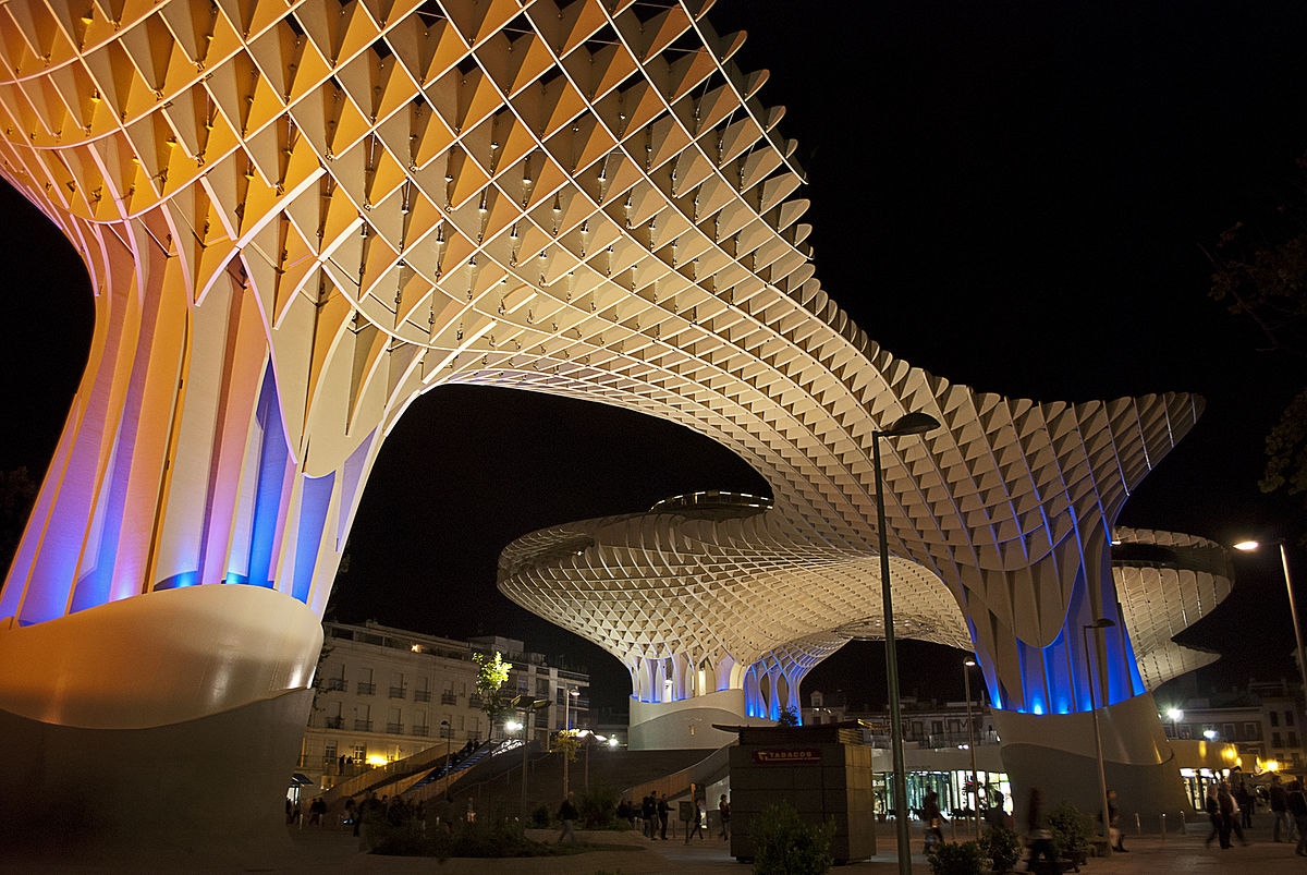 Metropol parasol the world s largest wooden structure - Metropol Parasol The World S Largest Wooden Structure 10