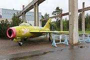 MiG-17 Keski-Suomen ilmailumuseo 1