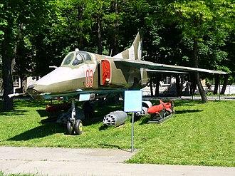 Mikoyan MiG-27 - MiG-27K