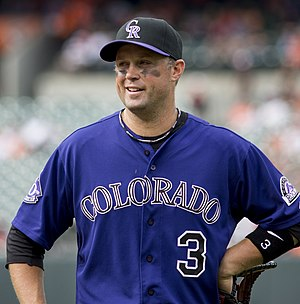 Michael Cuddyer - Cuddyer with the Colorado Rockies in 2013