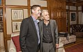 Michael Douglas with Grant Schreiber at Jane Goodall's 85th Birthday Party.jpg