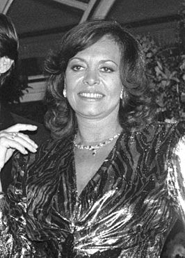 Michèle Mercier in 1986