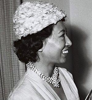 Michiko Inukai - Michiko Inukai in Israel, 1959
