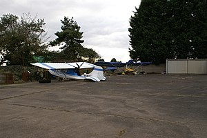 Westonzoyland - Micro Light Aircraft at Westonzoyland Airfield