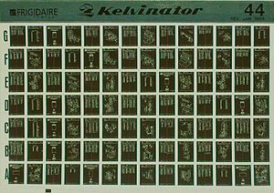 A 16mm jacket dupe microfiche