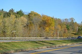Mifflin Township, Richland County, Ohio - Along U.S. Route 30 near Charles Mill Lake