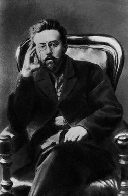 Фотография Михаила Арцыбашева (около 1905)