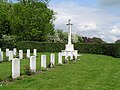 Military burials at Scopwick Cemetery - geograph.org.uk - 57801.jpg