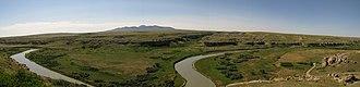 Milk River (Alberta–Montana) - Image: Milkriverpan