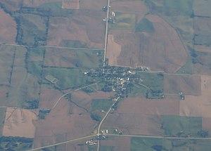 Millersburg, Iowa - Aerial view of Millersburg