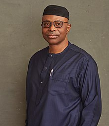 Dr. Mimiko in official campaign photo