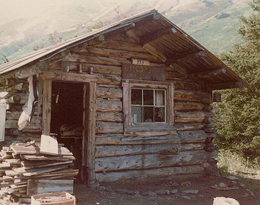 Miner's Cabin near Hope, Alaska