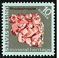 Mineral Heritage Rhodochrosite 10c 1974 issue U.S. stamp.jpg