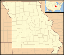 Liberal is located in Missouri
