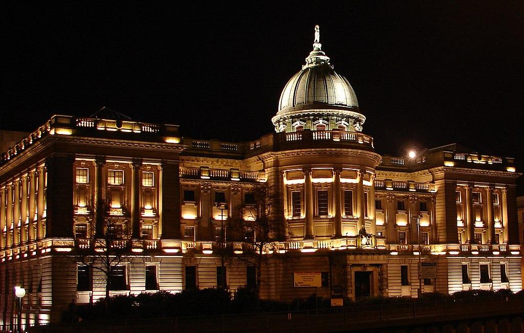 Mitchell Library de Glasgow, l'un des plus grandes bibliothèques de Glasgow.