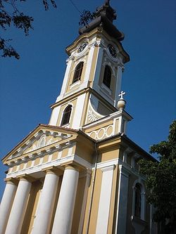 The Serbian Orthodox Church in Mokrin